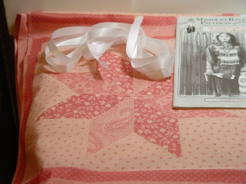 *Plains Colth Dress Kit-Peach Calico