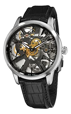 Maurice Lacroix Men's MP7138-SS001030 Masterpiece Squelette Skeleton Dial Watch from Mauser