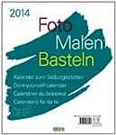 Foto, Malen, Basteln wei� 2014: Kalen...