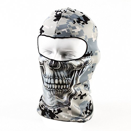 Your Choice Thin UV Protective Balaclava Motorcycle Cycling Sports Skull Face Mask Camo (Motorcycle Accessories For Women compare prices)