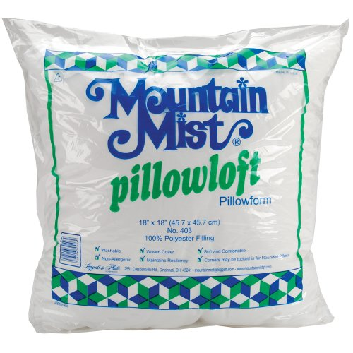 Best Buy! Mountain Mist Pillowloft Pillowforms, 18-inch-by-18-inch