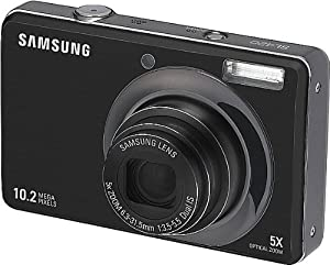 Samsung SL420 10MP Digital Camera with 5x Dual Image Stabilized Zoom and 2.7 inch LCD (Black)