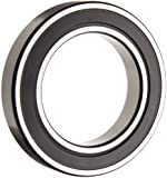 SKF Deep Groove Ball Bearing, Double Sealed, Steel Cage, C3 Clearance