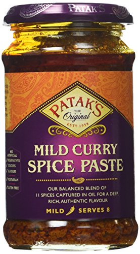 Patak's Curry Paste Mild, 10-Ounce Jars (Pack of 6) (Tomato Paste 10 compare prices)