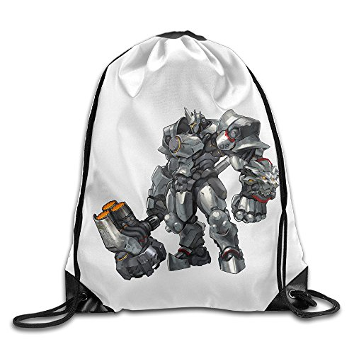 Overwatch Reinhardt Drawstring Bag