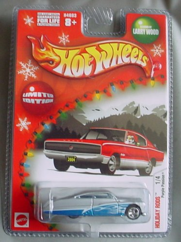 Hot Wheels Holiday Rods Purple Passion 1/4 Larry Wood SILVER