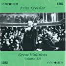 Great Violinists Vol. XII