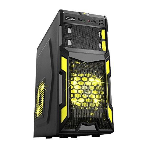 Fierce Bandit Gaming PC - 4,1GHz Hex Core AMD FX6300, NVIDIA GTX 1050 2GB GDDR5, 16GB Memoria, 1TB Disco Rigido - Perfetto per Nuovi Giochi, DirectX 12 - 266791