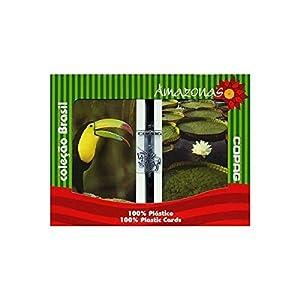 Copag Brazil Amazonas 100% Plastic Cards - 2 Decks