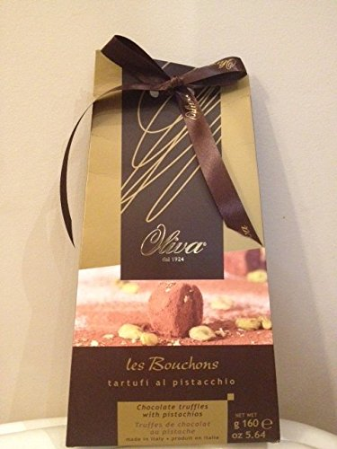 Delicious Les Bouchons Chocolate truffles with pistachios Gift Box