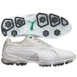 PUMA Titantour Golf Shoes White/Gray/Violet Medium 14