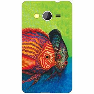 Back Cover For Samsung Galaxy Core 2 (Printed Designer)
