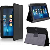 Onebook Folio Stand Faux Leather Case Cover Flip Protection Guard Only for A13 Q88 7 Inch Tablet PC Tablet Case Cover (Not Suit for All 7 Inch Tablet)