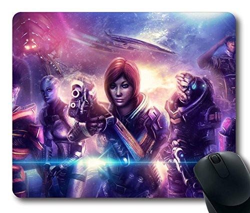 NEW-Custom-Fascinating-Mouse-Pad-with-Commander-Shepard-Mass-Effect-Steven-Hackett-The-Illusive-Man9-Non-Slip-Neoprene-Rubber-Standard-Size-9-Inch220mm-X-7-Inch180mm-X-18-Inch3mm-Desktop-Mousepad-Lapt