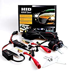 See 12V 55W 9007 High / Low 30000K Slim Aluminum Ballast HID Xenon Headlights Kit Details
