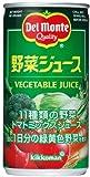 (お徳用ボックス) デルモンテ 野菜ジュース 190g×30本