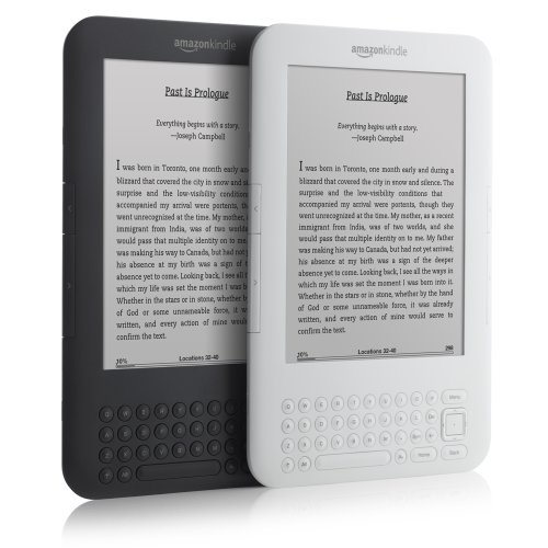 Kindle 3G Wireless Reading Device, Free 3G + Wi-Fi, 3G Works Globally ...
