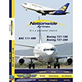 Just Planes Nationwide Airlines BAC 111 & B727 DVD