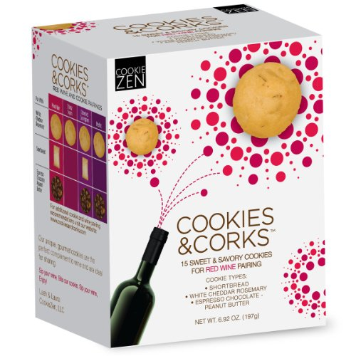 Cookies & Corks Red Wine Pairing, 7.87 Ounce