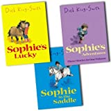 Dick King-Smith Dick King-Smith 3 Books Collection Pack Set RRP: £16.97 (Sophie in the Saddle, Sophie's Adventures:(