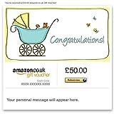 Congratulations! (Baby)- E-mail Amazon.co.uk Gift Voucher