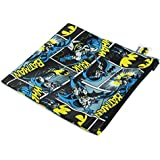Bumkins DC Comics Snack Bag, Batman Comic, Large