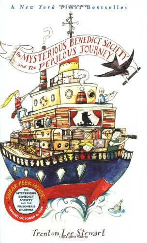 Cover of The Mysterious Benedict Society and the Perilous Journey