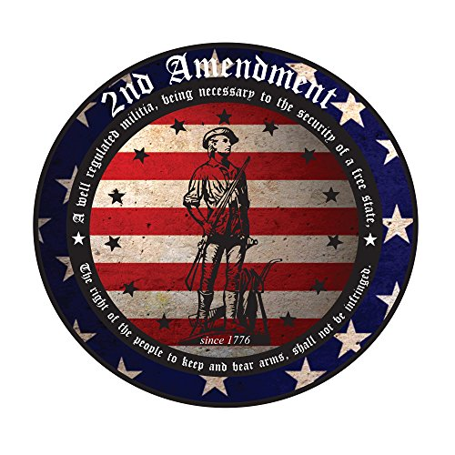 2nd Amendment Right to Bear Arms Decal - Cant take my guns from me - I will defend my right to own Firearms and protect what is now called Merica (Right To Bear Arms Window Decal compare prices)
