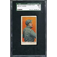 1909 E92 Dockman Cy Young Indians SGC 60 EX 260670 Kit Young Cards