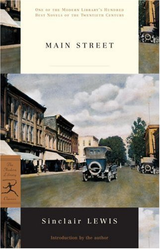 An analysis of the characters in main street by lewis sinclair