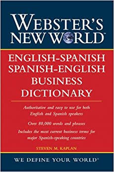New world english spanish spanish english business dictionary
