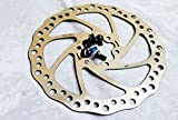 Outdoor Manager 2pcs Road Bike MTB Cycle Disc Brake Rotor 160mm With 12 bolts