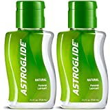 Astroglide Natural Liquid Personal Lubricant Our Natural Formula Is Not Made with Glycerin, Parabens, Fragrances, Flavors or Hormones. : Size 2.5 Oz. (Pack of 2)