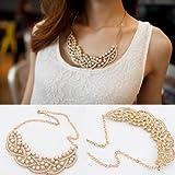 Bestpriceam (TM) Womens Metal Fashion Statement Bib Collar Necklace Collection-various Styles