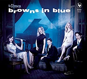 5 Browns: in Blue