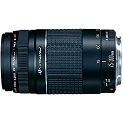 Canon EF 75-300mm f/4-5.6 III USM Telephoto Zoom Lens for Canon SLR Cameras