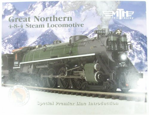 MTH 2004 Great Northern 4-8-4 Steam Loco. Info Flyer - 1
