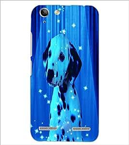 PrintDhaba Spot Dog D-3893 Back Case Cover for LENOVO VIBE K5 (Multi-Coloured)