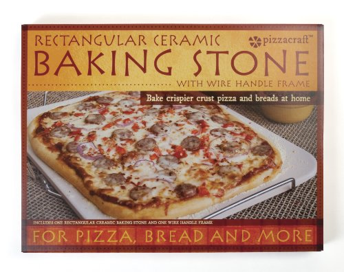 Pizza Baking Stone : Pizzacraft pc ` rectangle ceramic baking