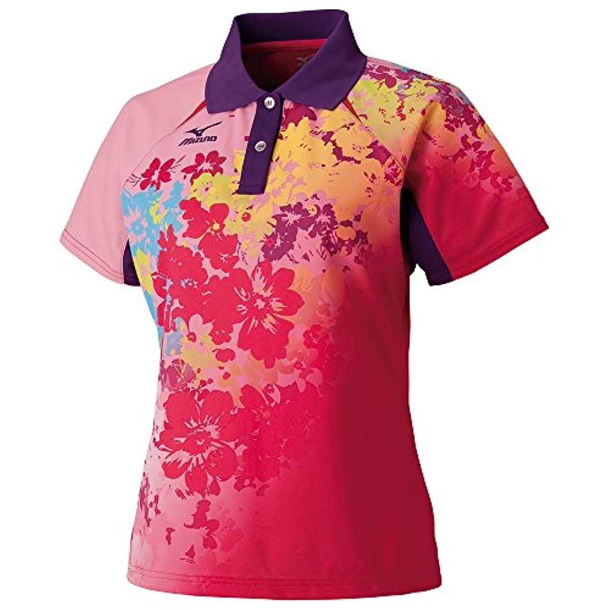 [해외] (미즈노)MIZUNO 탁구 웨어 게임 셔츠 82JA6201[레이디스] (2016-09-01)