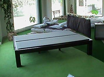 Bioecoshop Letto In Legno Massello Bioeco Sakura Mis Interne 140 x 200 Cm H 40 1 Piazza e 1/2 Cm Made In Italy
