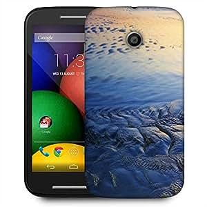 Snoogg Beach Texture Designer Protective Phone Back Case Cover For Motorola E2 / MOTO E22