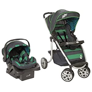 Safety 1st AeroLite Premier Travel System, Sail Away