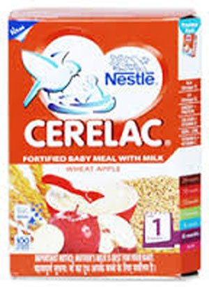 2 Lot X Nestle Cerelac Wheat Apple Cherry - 6 Months (300 G X 2)