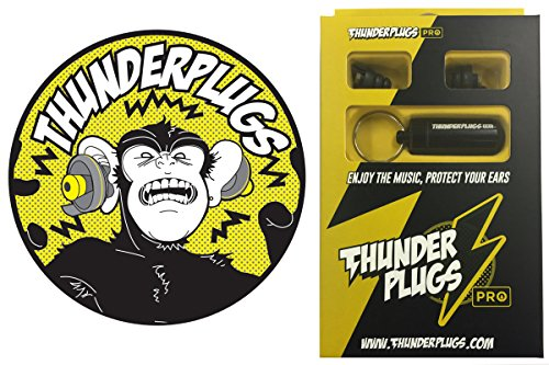 Safe Ears 音楽用イヤープロテクター ThunderPlugs PRO TPPRO