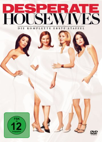 Desperate Housewives - Die komplette erste Staffel (6 DVDs)
