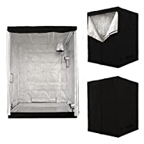 Big Sale Premium Indoor Hydroponic Plant Growing Room Tent - 5' x 5' x 6'8""