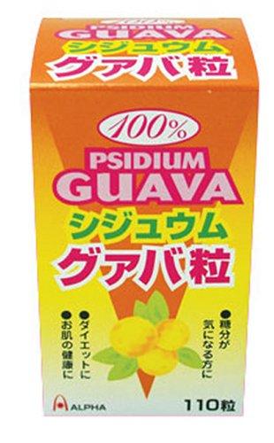 100%シジュウム・グァバ粒 300mg110粒