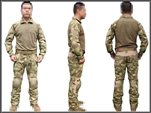 Men Military Army Tactical Series Airsoft Paintball Hunting SWAT Clothes BDU Combat... by Uniform