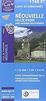 Neouvielle/Vallee d'Aure/PNR des Pyrenees GPS: IGN.1748ET par Institut géographique national